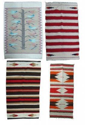 4 Rugs/weavings
