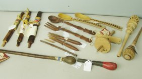 15 Wooden Items