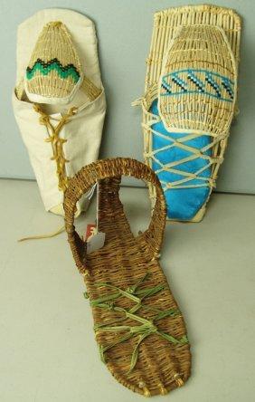 3 Toy Cradle Baskets