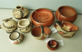 9 Small Pots