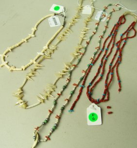 4 Pueblo Necklaces