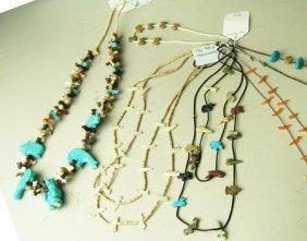 7 Stone Fetish Necklaces