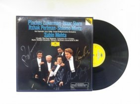 Album With The Signatures Of The Greatest Violinists: