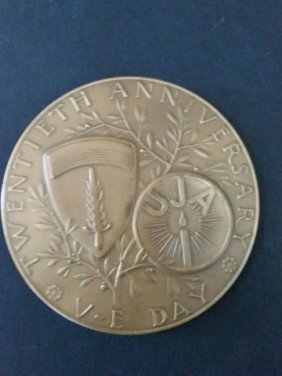 Bronze Medal - 20th Anniversary Of The Victory Day Of