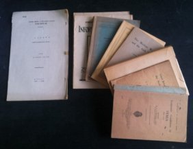 Collection Of Interesting And Rare Booklets About The