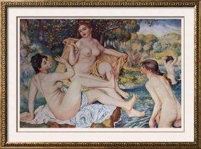 Pierre Auguste Renoir The Bathers C.1884-87 Fine Art