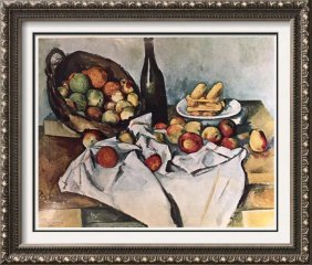 Paul Cezanne Still Life With Basket Of Apples C.1890-94