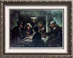 Vincent Van Gogh The Potato-eaters C.1885 Fine Art