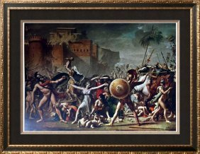 Masterpieces Jacques Louis David: The Battle Of The