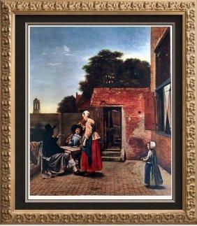 Masterpieces Of Dutch Painting Pieter De Hooch: A Dutch