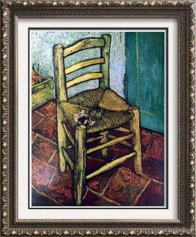 Vincent Van Gogh Van Gogh's Chair C.1889 Fine Art Print