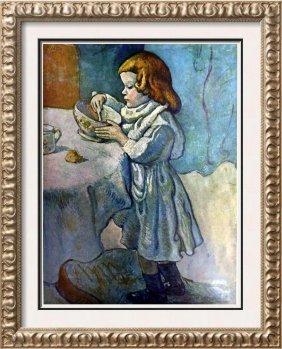 Pablo Picasso The Gourmet C.1901 Fine Art Print