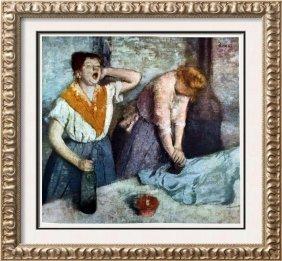 Edgar-hilaire-germain Degas Two Laundresses C.1884 Fine