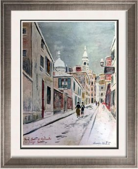 Maurice Utrillo Sacre-coeur De Montmartre And Passage