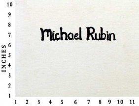 Museum Art Books Michael Rubin The Spirit Holds 1990