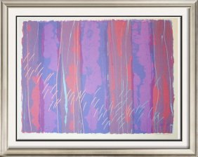 Abstract Large Limited Edition Agam-style Geometric Art