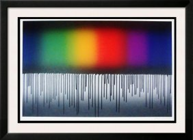 Huge Abstract Modern Bold Limited Edition Signed
