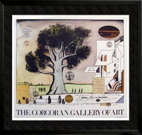 Saul Steinberg Rare Lithograph Sale 24x27 Sale