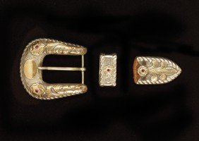 Edward H Bohlin Buckle Set