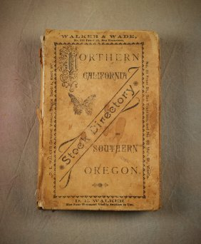 1880s N Cal & S Oregon Brand Book