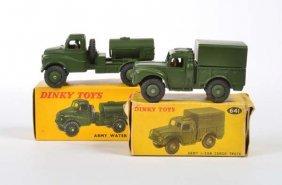 Dinky Toys, Militaerfahrzeuge Nr. 643 + 641