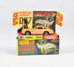 Corgi Toys, James Bond Auto