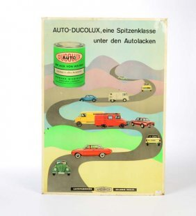 "Blechschild ""auto-ducolux"""