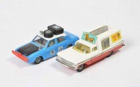 Corgi Toys, Chevrolet Impala + Hillman Hunter
