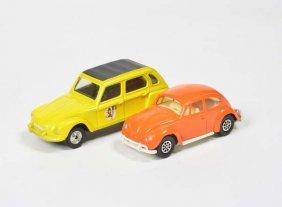 Corgi Toys, Citroen Duane + Vw Kaefer