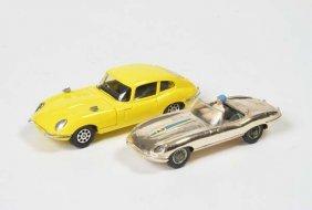 Corgi Toys, 2x Jaguar