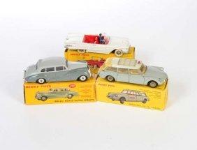 Dinky Toys, Rolls Royce, Thunderbird + Citroen