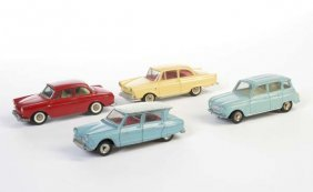 Tekno, Dinky: 4 Autos