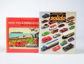 """2 Buecher """"dinky Toys & Modelled Miniatures"""" + """"solido"""