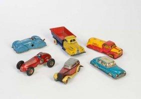 Fischer, Tippco U.a., 6 Pennytoy Autos