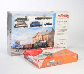 Marklin, Startpackung Bauzug (29220) Spur H0