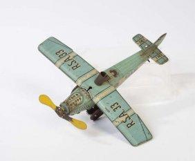 Ibi, Flugzeug