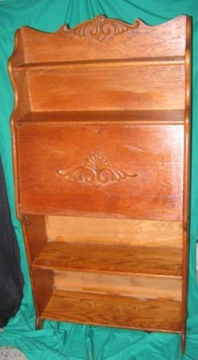 Furniture Antique Secretary Oak