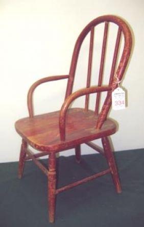 Antique Furniture Chair Child