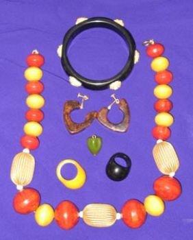 Bakelite Costume Jewelry Lot