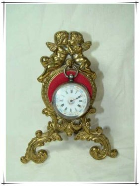 European Style Bronze Clock