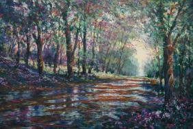 """Gary Schofield, Title """"summer Path"""" Limited Edition"""