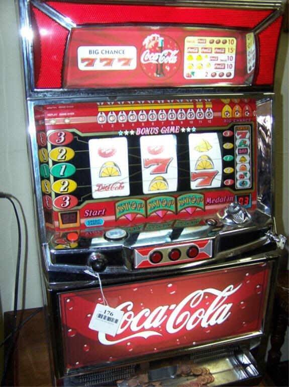coca cola slot machine