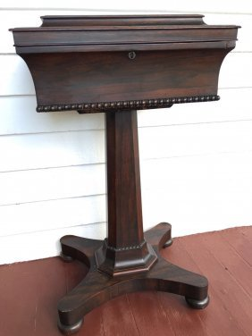 Victorian Rosewood Teapoy
