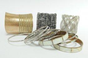 Fabulous Jewelry Lot Bangles & Cuff Bracelets