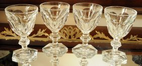 Magnificent Vintage Baccarat Crystal Harcourt Glasses
