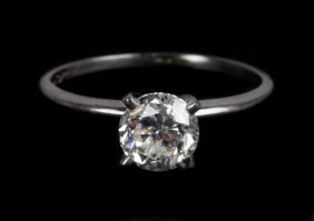 A Lady's 1ct. Diamond Solitaire Engagement Ring
