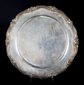 Mexican Sterling Silver Salver