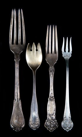Reed & Barton And Gorham Silver Flatware