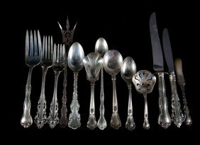 Group Of Gorham Sterling Silver Flatware (25)
