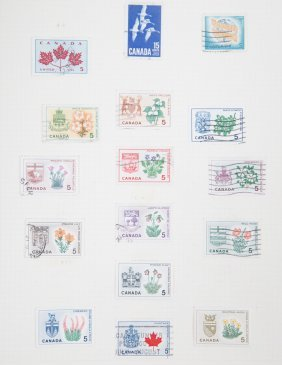 Stamps Of Canada, Australia & New Zealand